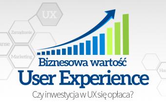 biznesowa wartosc UX