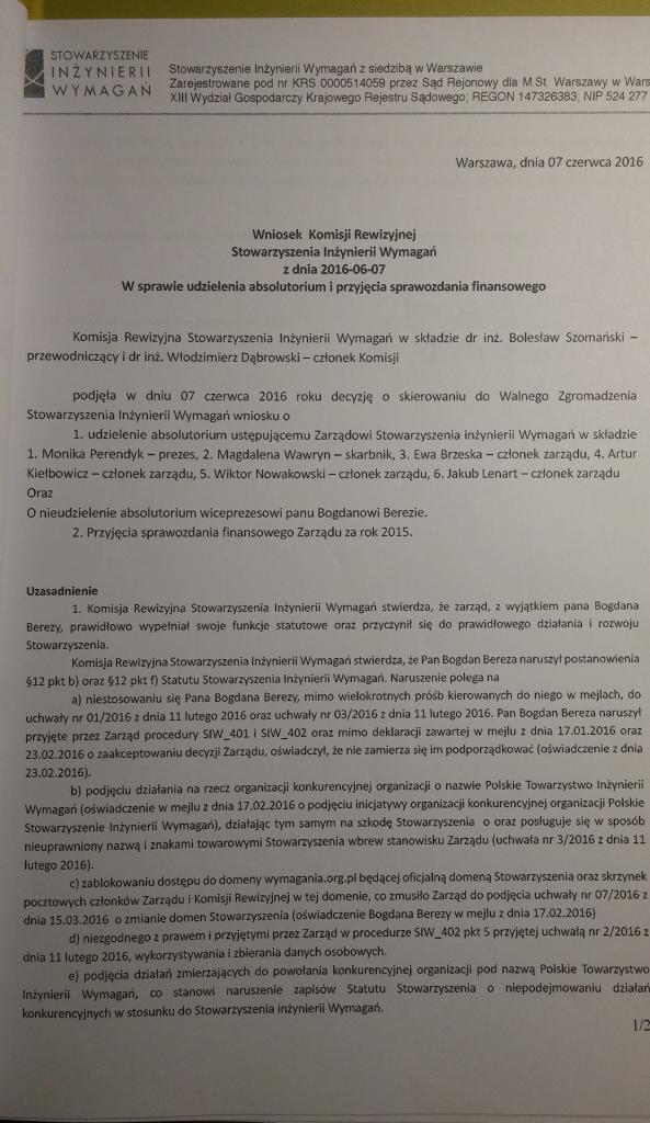 Wniosek Komisji Rewizyjnej_cz1