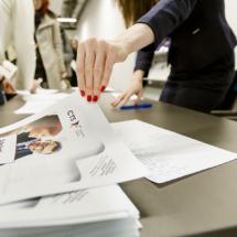 Przy rejestracji każdy dostawał informację o szkoleniach naszego partnera