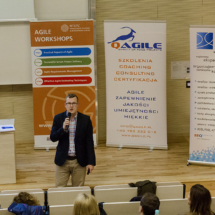 Rafał Stańczak opowiadał o User Stories