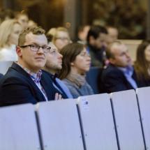 Rafał Stańczak - nasz prelegent oczekuje na swoje wystąpienie