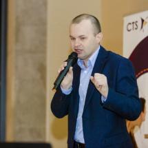 Michał Wolski opowiadał o Kanbanie