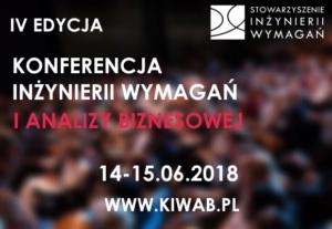 IV Edycja Konferencji Inżynierii Wymagań i Analizy Biznesowej